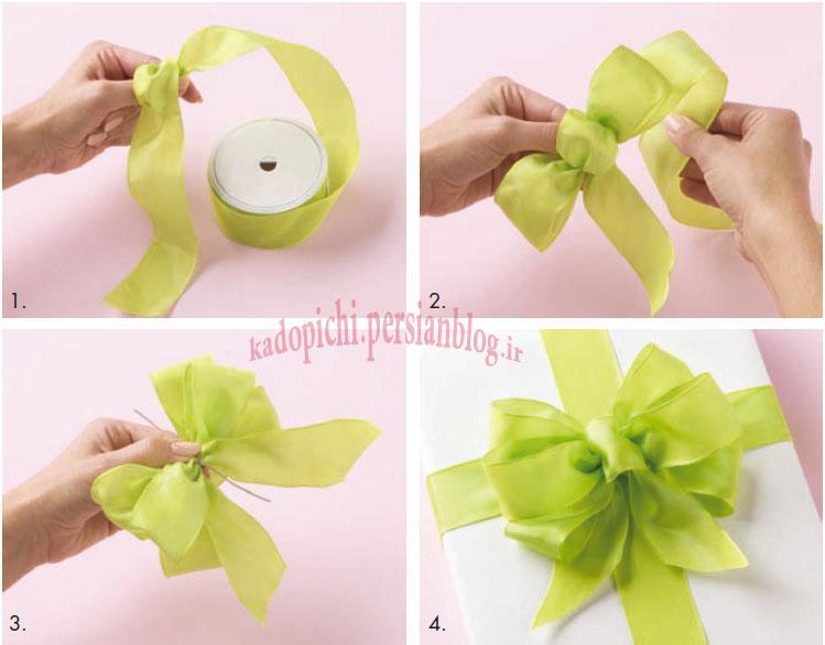 Как сделать бантик на подарок из ленты своими руками пошаговое фото